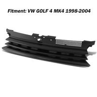 Nueva negro ABS parachoques parrilla Grill Hood para VW Volkswagen Golf 4 MK4 1998 1999 2000 2001 2002 2003 2004