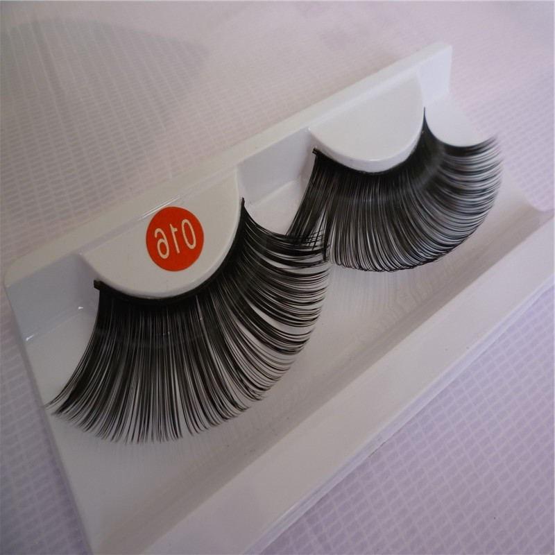 1 Pairs Fashion Natural Long False Eyelashes Stage Performance Thick False Eye Lashes Makeup Tool KZ02