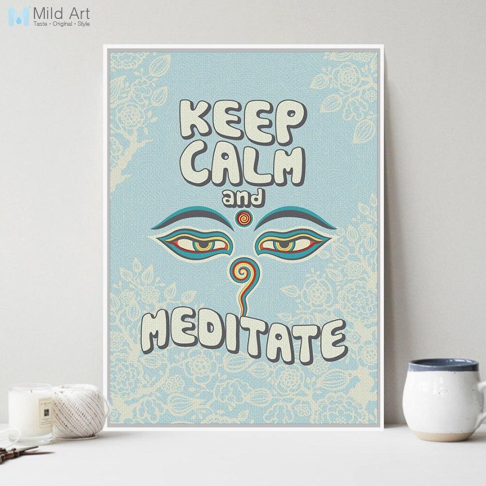 Moderno Oriental Buda Zen de Motivación Cotizaciones Tipografía ...