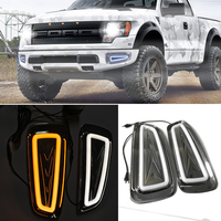 CITYCAR AUTO LED DAY LIGHT led FOG lamp DRL fit for FORD F150 F 150 2009 2015 auto car styling lights