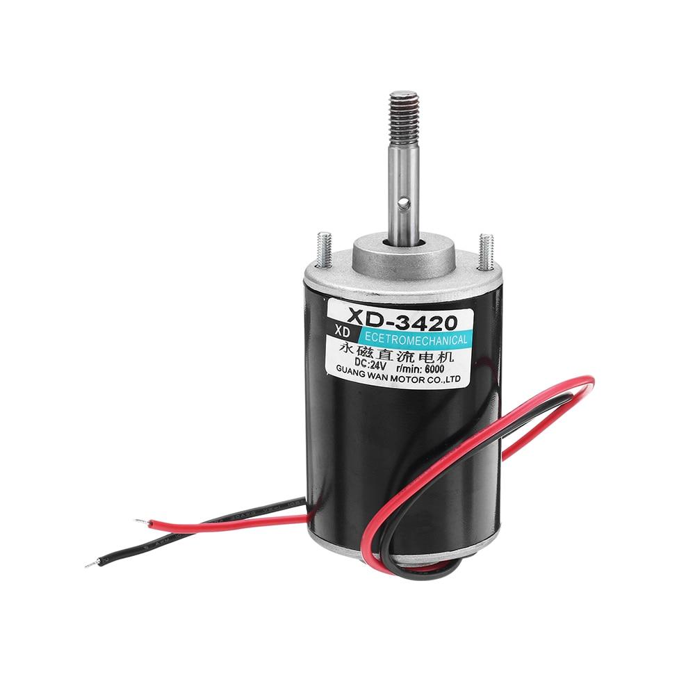3420 Motor 24V 6000rpm Permanent Magnet Motor DC Motor for DIY Generator