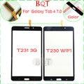 "T230 Digitador de alta Qualidade para Samsung Galaxy Tab 4 7.0 ""T230 T231 BQT Digitador Da Tela de Toque de Vidro Loja"