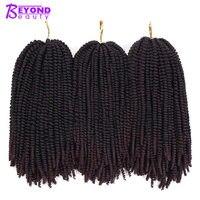 50 прядей Омбре нубийский Твист Синтетические накладные волосы ямайский отскок пушистые бомбы крученые крючки для страсти твист