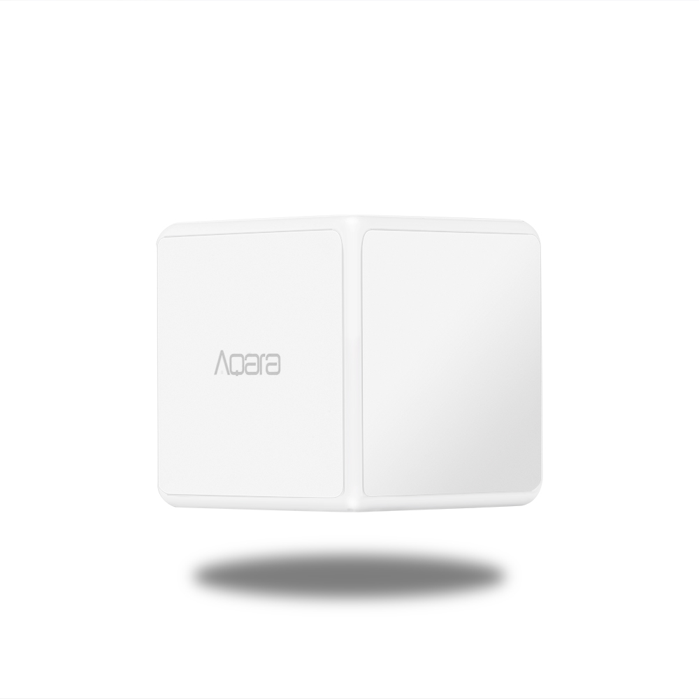 Image 3 - Xiaomi Aqara Magic Cube Controller Zigbee Version Controlled by Six Actions For Smart Home Device work with mijia home app-in Smart Remote Control from Consumer Electronics