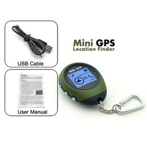 Image 5 - Podofo Mini Gps Tracker Tracking Device Reizen Draagbare Sleutelhanger Locator Pathfinding Motorfiets Voertuig Sport Handheld Sleutelhanger