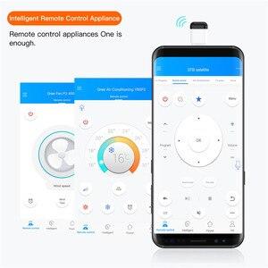 Image 2 - マイクロ Usb タイプ C 携帯電話、リモコンワイヤレス赤外線スマート App 制御機器用エアコン