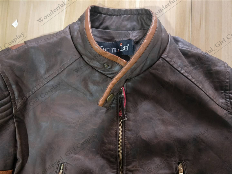 New X men Wolverines James Howlett Logan Cosplay PU Leather Jacket Cosplay Costume Faux Leather Coat for Men M-4XL