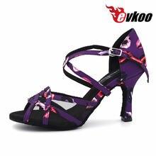 Женские туфли evkoodance все размеры розовые фиолетовые на каблуке