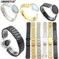 Novo luxo & elegante pulseira de aço inoxidável link pulseira pulseira cinta para huawei honor s1 relógio