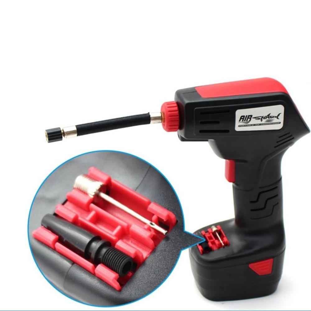 Car Electric Air Pump High Pressure Air Pump Household Portable Rechargeable Pump Electric Inflator Portable Hand Held Pump