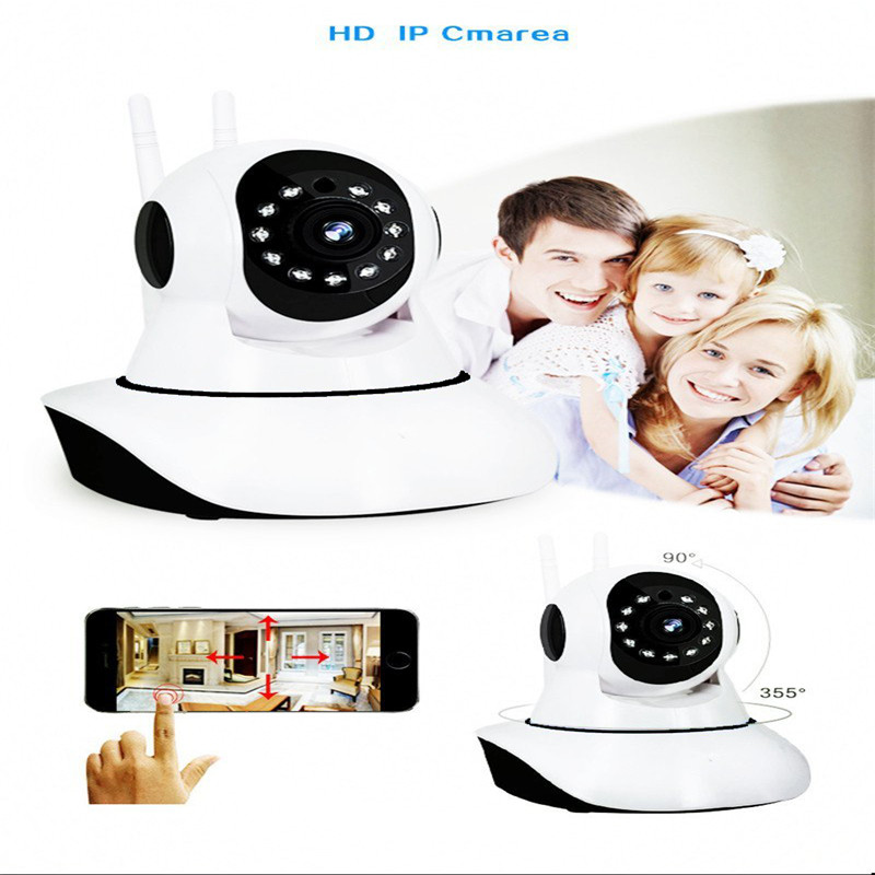 WIFI IP Security Camera 720P robot HD video Home Security Surveillance 360 Night Vision Two-way Audio Motion Detection CameraWIFI IP Security Camera 720P robot HD video Home Security Surveillance 360 Night Vision Two-way Audio Motion Detection Camera