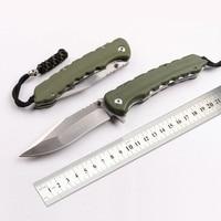 senior The sharp D2 hunting survival tactics folding knife hardness 62 HRC EDC tool High end gift knife