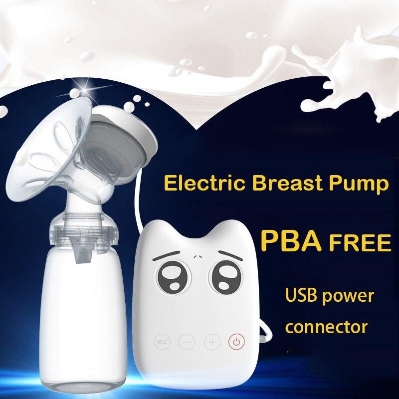 breast pumps DIY Intelligent USB electric baby BPA Free Postpartum Breast feeding Breast milk suckers Single breast pump