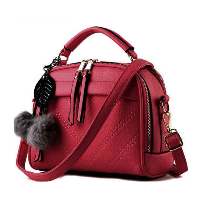 2017 women pu leather handbag of brands women messenger bags cross body ladies shoulder shoulder bag bolsos MB114