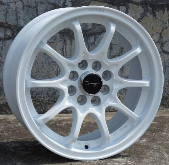 US $820 0 |15 inch White 15x7 0 4x100 4x108 Car Aluminum Alloy Wheel Rims  Fit for Mazda Peugeot-in Wheels from Automobiles & Motorcycles on