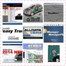 Купить с кэшбэком High quality Alldata software auto repair automotive car diagnostic tool professional mitchell ondemand vivid workshop data atsg