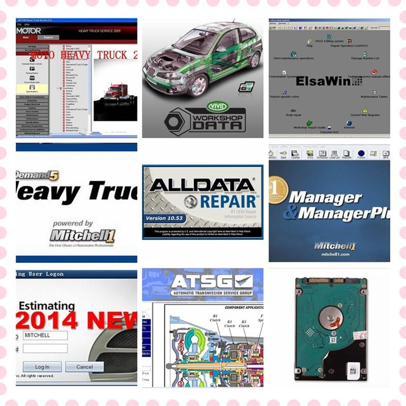 High quality Alldata software auto repair automotive car diagnostic tool profess