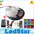 underwater IP68 led strip 5050 smd 300 led 5m silicon ribbon tiras Pool table used RGB   white 12V+Power adapter Free Shipping