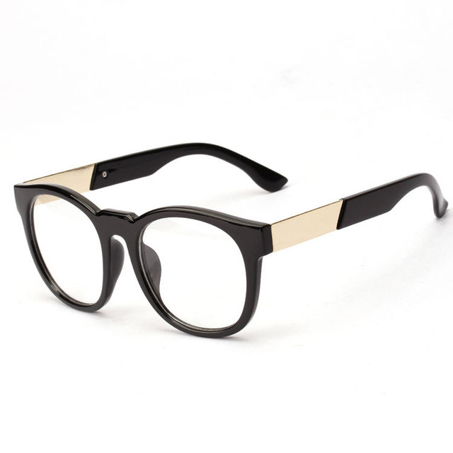 eb61069a994 2015 New Brand Big Frame Fashion Glasses Frame Oculos De Grau Femininos Men  Computer Eyeglasses Men Optical Frame Spectacle N185