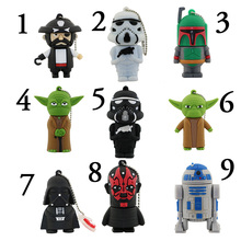 USB Flash Drive New Real Capacity Star War Hero Hero 8GB 16GB 32GB Pen Drive Memory USB Stick PenDrive For PC