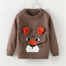 AJLONGER Baby Girls Boys Sweater Kids Long Sleeve Tops Cotton Brand Winter Clothes Clothing