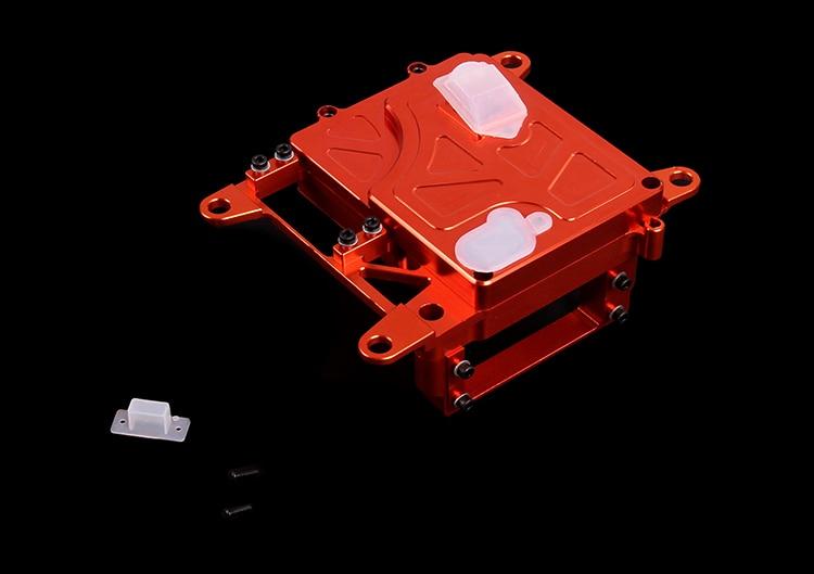 CNC radio box set  For 1/5 HPI Baja 5B 5T 5SC cnc metal steering wiper arm set for 1 5 hpi baja 5b 5t 5sc