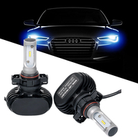 H4 H7 Car Led Headlight CSP Bulb G6 6500K 50W 8000LM Autos Light with PHILIPS Chip Automoveis Fan-less H11 Fog Lamp All-in-one