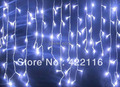 3.5 m 100 SMD White Holiday Festival Curtain Wedding Lights LED String Strip ice bar lamp Garlands for PARTY FAIRY CHRISTMAS