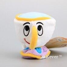 Movie Beauty Beast Cute Cup Mini Plush Toy Stuffed Dolls Home Ornaments 9CM