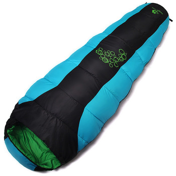 Jungle King 2017 thickening fill four holes cotton sleeping bags outdoor camping mountaineering special camping  bag movement 3
