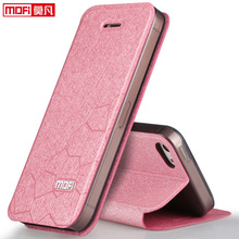 mofi original for iphone 5s case SE girl leather flip cover SE ultra thin silicon cover for iphone 5 5S case accessories