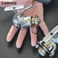 Lawaia 6-eixo Série 200 Carretel da Mosca Carretel de Pesca da Mosca de Alumínio Haste Alimentador De Roda Roda de Fiar Carretel da Mosca Mão Esquerda roda de pesca Bobinas