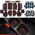 13Pcs Anti Non Slip For Suzuki SX4 S-CROSS Accessories With Words In Car Stickers Door Groove Cup Gate Slot Mat Pad Car-Styling