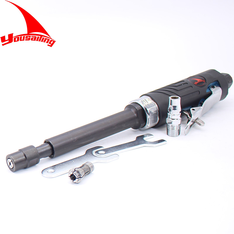 YOUSAILING 280mm Long Air Grinder 3mm&6mm Pneumatic Grinder Tools 20000rpm Air Die Grinder air die grinder mag 094n air tools max free speed 23 500rpm