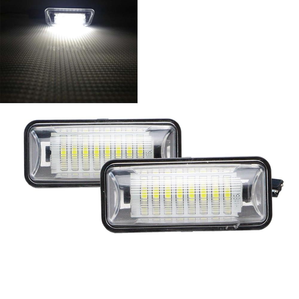 ᓂ2 PCS/set GT 86 LED License Plate Light Lamp Rear Registration ...