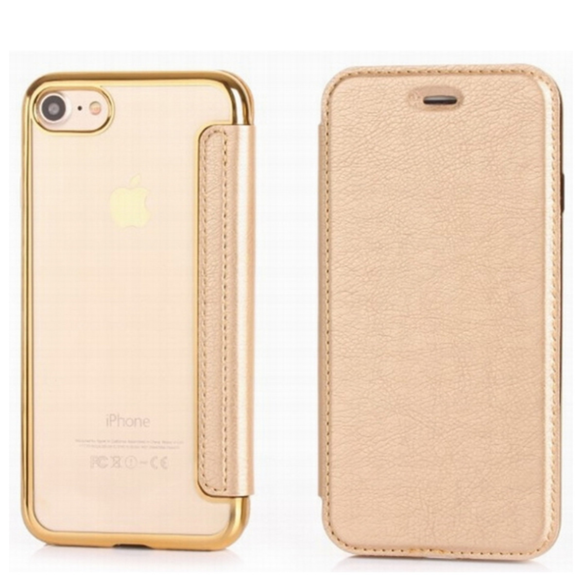 Luxury Phone Case Untuk iPhone 5 5 S SE Transparan Plating TPU Balik Kulit Soft Cover Kasus Untuk iPhone X XS 8 7 Ditambah 6 6 s Plus