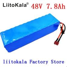 LiitoKala 48 V 7.8AH 13S3P akumulator 48 V 15AH 1000 W akumulator do rowerów elektrycznych bateria litowo jonowa 48 V 30A BMS