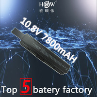 HSW 9CELL 7800MAH Laptop Battery FOR Toshiba Satellite Pro A200 A210 L300 L300D L550 L450 L500 L550 pa3534u 1brs a300 bateria
