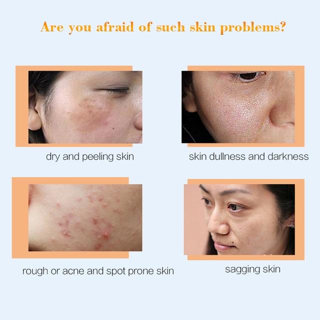 10packs Collogen Moisturizing Face Cream Skin Care Whitening Cream Lifting Firming Anti Wrinkle Serum for Face Cream Essence 3