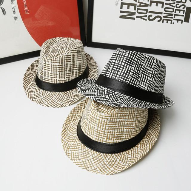 Bonito sombrero Mujeres Sombrero Para Los Hombres Damas Sombrero de Verano  Casquillo de la Playa Sun fa59fb653aa