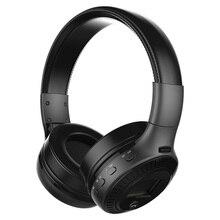 ZEALOT B19 HiFi бас стерео Bluetooth наушники Беспроводная гарнитура ЖК-дисплей с микрофоном FM радио TF слот для карт для звонков