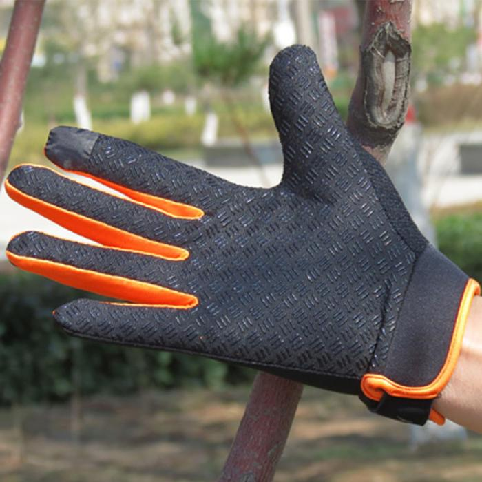 Outdoor Running Gloves Full Finger Touchscreen Cycling Gloves (8)