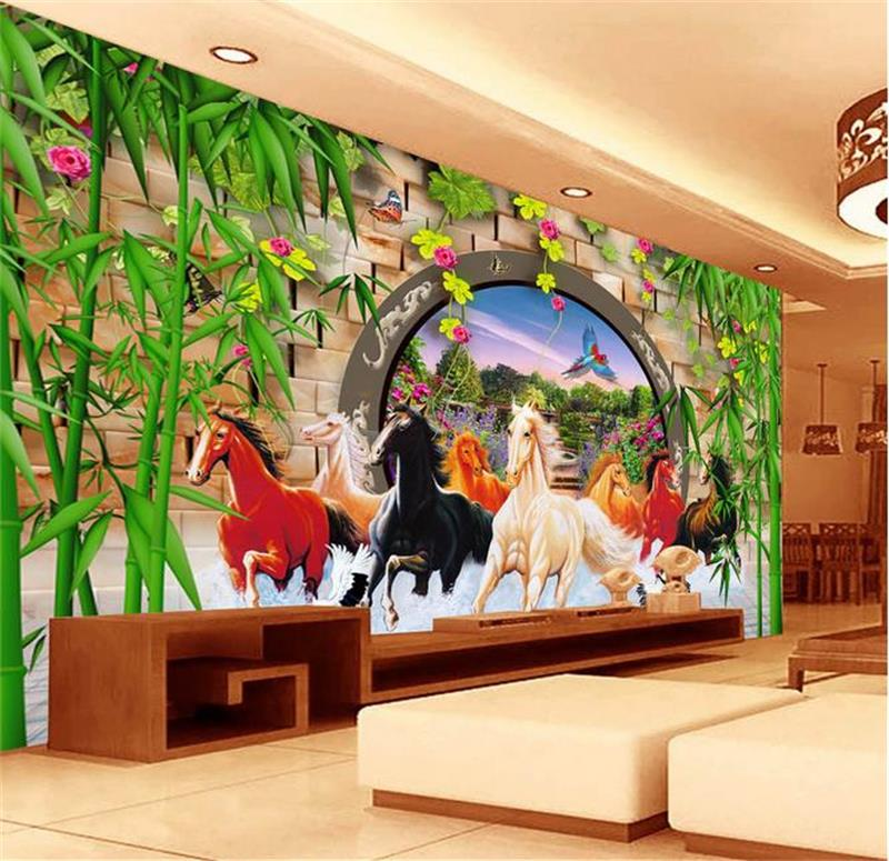 Compare prices on bamboo sofas online shopping buy low for Custom mural cost