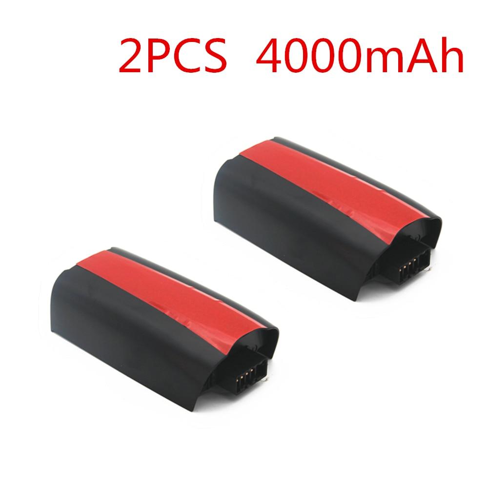2 pcs mise à niveau Lipo batterie pour perroquet Bebop 2 Drone batterie 4000 mAh 11.1 V Lipo mise à niveau batterie pour RC quadrirotor pièces