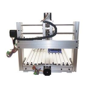 Image 5 - Diy מיני שולחן cnc 4 ציר 3060 pcb עץ מתכת כרסום קאטר מכונת עם לסת סגן מלחציים כרסום bits מכונות