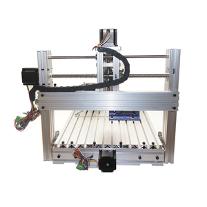 Image 5 - Diy mini table cnc 4 axis 3060 pcb wood metal milling cutter machine with jaw vice clamps and milling bits machinery