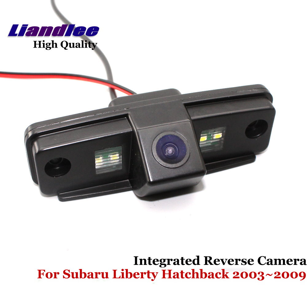 Liandlee For Subaru Liberty Hatchback 2003 2009 Car Rearview Reverse Camera Backup Parking Rear View Camera Integrated SONY in Vehicle Camera from Automobiles Motorcycles