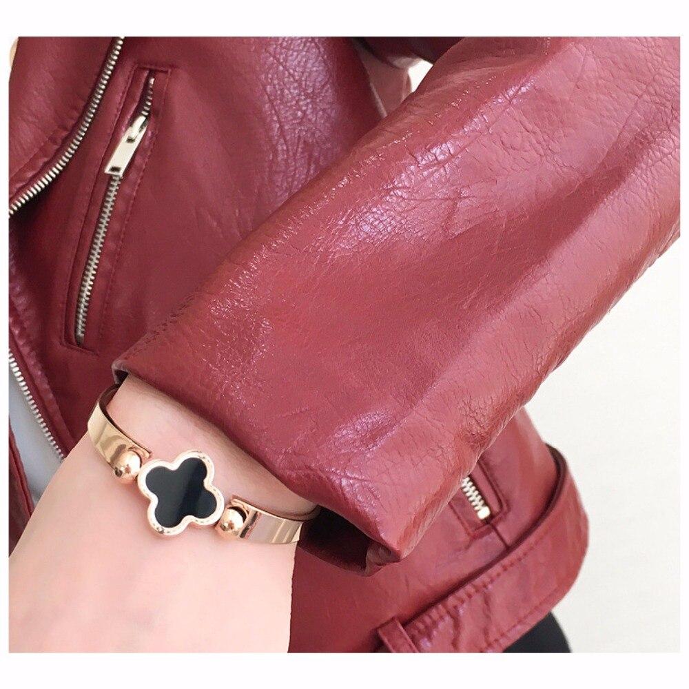 Hiver Dames Vêtements De red Mode En blue Rue Couleurs Vives Qualité Automne pink Haute Black Cuir Pu Femmes Court Base Nouveau yellow Veste 1rwqxrvt
