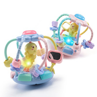Baby Music Rattle Activity Ball Rattles Educational Toys For Babies Grasping Ball Baby Toys 0 12 Months climb Learning