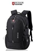 RUIGOR men laptop backpack Large Capacity Schoolbag waterproof antitheft backpacks travel bags Casual Fashion sports bag